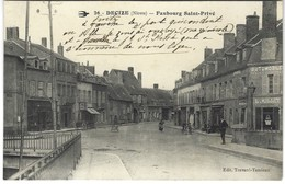 58 - Decize - Faubourg Saint Privé - Automobiles Millet - Decize