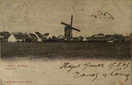 Heyst - Heist // Sugg // Le Village - Het Dorp (Molen - Moulin) 1903 Vlekkig - Heist