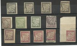 France, Taxe 1884, Un Lot De Neufs Et Oblitérés - 1859-1955 Mint/hinged