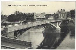 58 - Decize -  Nouveau Pont Et Hospice - Decize