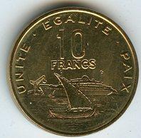 Djibouti 10 Francs 2013 UNC KM 23 - Dschibuti