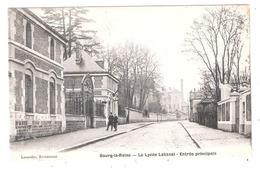 Bourg La Reine (92 - Hauts De Seine ) Le Lycée Lakanal - Entrée Principale - Bourg La Reine