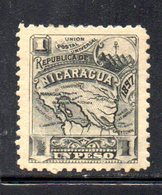APR1930 - NICARAGUA 1896 , Yvert N. 87  *  Linguella Forte (2380A) - Nicaragua
