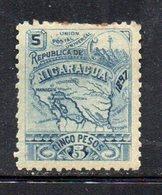 APR1931 - NICARAGUA 1896 , Yvert N. 88  *  Linguella Forte (2380A) - Nicaragua