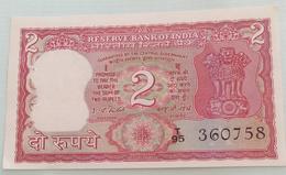 Inde  India 2 Rupees..I G Patel..360758 - India