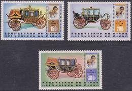 Repubica De Niger 1981. Princesa Diana De Gales. Mi 758 / 760. MNH. **. - Níger (1960-...)