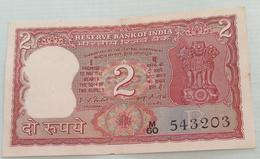 Inde  India 2 Rupees..I G Patel..543203 - India