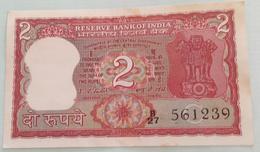 Inde  India 2 Rupees..I G Patel..561239 - India