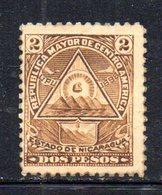 APR1933 - NICARAGUA 1898 , Yvert N. 108  *  Linguella Forte (2380A) - Nicaragua