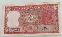 Inde  India 2 Rupees..I G Patel..888007 - India