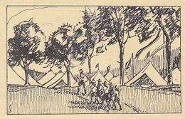 1. Schweiz. Pfadfinderlager In Bern 1925 - Signiert S - Gel.1925      (A-100-70816) - Pfadfinder-Bewegung