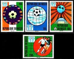 Repubica De Niger 1978. Mundial Futbol Argentina'78. Sc 441 / 444. MNH. **. - Níger (1960-...)