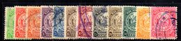 APR1937 - NICARAGUA 1905 , Serietta Yvert N. 196/207  Usata (2380A) - Nicaragua