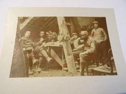 Photo Mai 1915 HAUDIOMONT (près Verdun) - La Cuisine Des Télégraphistes (8ème Génie) (A198, Ww1, Wk 1) - Other Municipalities