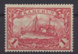 Kolonien Kamerun 24 B 1 Mark Kaiseryacht Ungebraucht Kat.-Wert 17,00 - Kolonie: Kamerun