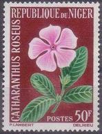 Repubica De Niger 1965. Flowers. Flores. Mi 92. MNH. **. - Níger (1960-...)