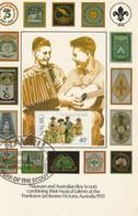 Nauruan And Australian Boy Scouts Combining Their Musical Talents Frankston Jamboree, Victoria, Australia 1935 - Scouting