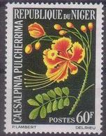 Repubica De Niger 1965. Flowers. Flores. Mi 93. MNH. **. - Níger (1960-...)