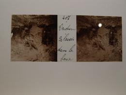 Photo Plaque De Verre Stéréoscopique Guerre 14-18 Poilus Verdun Tranchée Bléssés Dans La Boue - Diapositiva Su Vetro