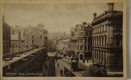 Londonderry // Waterloo Place (tram?) 19?? - Londonderry