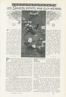 Les Chinois Peints Par Elix-mêmes /  Article , Pris D`un Magazine / 1911 - Bücher, Zeitschriften, Comics