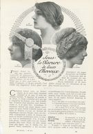 Sous La Parure De Leur Cheveux /  Article , Pris D`un Magazine / 1911 - Bücher, Zeitschriften, Comics