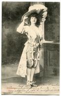 CPA  Femme SCALA  Melle CHAVARNY Chapeau ( Cachets De Corbeil Et Arpajon 1906) - Femmes