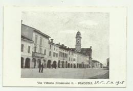 PIADENA - VIA VITTORIO EMANUELE II - NV  FP - Cremona