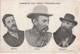 Hommage Aux Héros Transvaaliens - Dewet Botha Delarey - South Africa