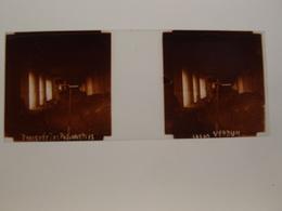 Photo Plaque De Verre Stéréoscopique Guerre 14-18 Verdun Tranchée Des Baïonnettes - Diapositiva Su Vetro