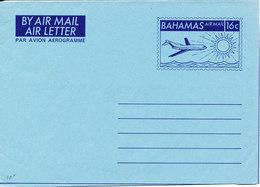 Bahamas Aerogramme In Mint Condition 16 C. - Bahamas (1973-...)