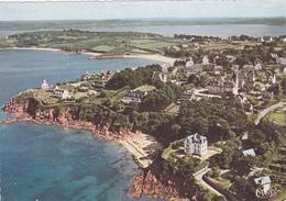 CP  Finistère - Carantec - Vue Aérienne - La Côte Et Les Villas - Combier - Cim. - Carantec