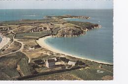 CP Finistère - Carantec - Vue Aérienne De L' Ile Callot - Combier - Cim. - Carantec