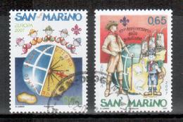 San Marino / Saint Marin 2007 Satz/set EUROPA Gestempelt/used - Europa-CEPT