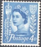 Saar 1958. Reina Isabel II. Quena Elizabeth II. MNH. **. - Jersey