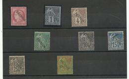 Un Lot De Col Gen. Surchargés Réunion Neufs & Oblitérés, Cote YT 150€ - Reunion Island (1852-1975)