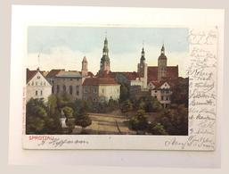 POLAND рostcard Szprotava - Polonia