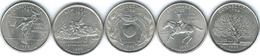 United States Of America - 1999 - Quarter Dollar - Delaware, Pennsylvania, New Jersey, Georgia & Connecticut - 1999-2009: State Quarters