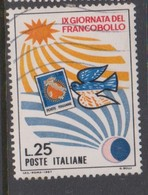 Italy Republic S 1064 1967 Stamp Day,used - 6. 1946-.. Republik