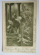 """""""Neujahr, Sylvesterglocken, Engel"""" 1902, W.Wittmann ♥  - Anno Nuovo"""