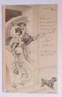 """""""Neujahr, Frauen, Mode, Muff, Rutschen"""" 1901 ♥   - New Year"""