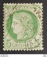 1871 - 1875, Ceres, Vert-jaune Clair, France, Empire Française - 1871-1875 Cérès