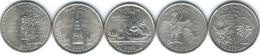 United States Of America - 2000 - Quarter Dollar - Massachusetts, Maryland, South Carolina, New Hampshire, Virginia - 1999-2009: State Quarters