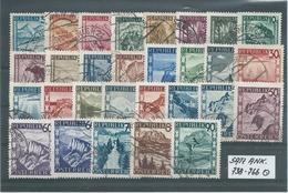 SATZ ANK. 738 - 766  Gestempelt Siehe Scan - 1945-60 Gebraucht