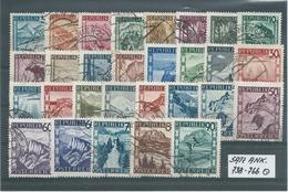 SATZ ANK. 738 - 766  Gestempelt Siehe Scan - 1945-60 Used