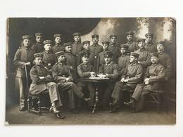 Foto AK Deutsche Junge Soldaten Soldats Allemande 1916 Photo Atelier Heidelberg Feldpost - Guerre 1914-18