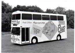 35mm ORIGINAL PHOTO BUS POCO'S POST OFFICE BUS - F061 - Cartoline
