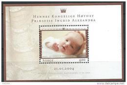 Norvège,  2004 Bloc  N°28 Neuf Naissance De La Princesse Ingrid Alexandra - Blocs-feuillets