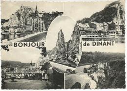 BONJOUR De DINANT.  (scan Verso) - Dinant