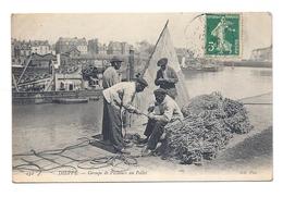 CPA Dieppe - Groupe De Pêcheurs Au Pollet - Dieppe
